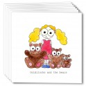 Goldilocks & the bears (pack of 6 cards)