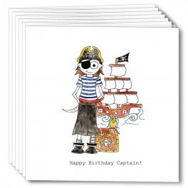 Happy Birthday Pirate Captain