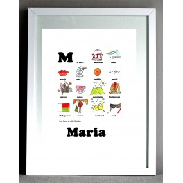 Personalised Nursery Art